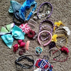 Kids hair accessories $15.00 for all.